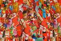 Bomuldsjersey med masser af julegaver