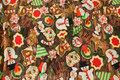 Bomuldsjersey med søde julekager