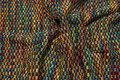 Multifarvet modestrik i stærke farver