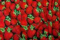 Digitaltryk med livagtige jordbær