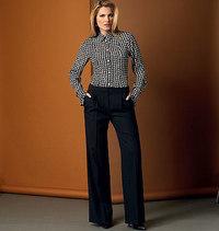Vogue mønster: Bukser