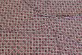 Småmønstret viscosejersey i rosa og grå