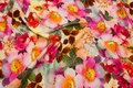 Bomuldsjersey med smukke blomster i digitaltryk