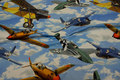 Bomuldsjersey med veteranfly