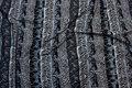 Viscose jersey i grå nuancer med vilde dyr