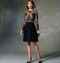 Vogue mønster: Kjole, Tom og Linda Platt