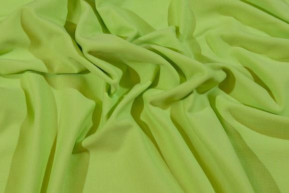 Limefarvet strækjersey i klassisk kvalitet