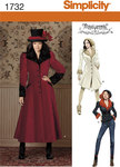 Kostume frakke i 1800-tals eller western stil