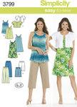Bluser, toppe, nederdel i sommer design