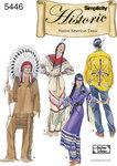 Mænd og kvinder, indianerkjoler