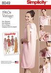 Vintage 1960 kjoler med ærmehulsdesign