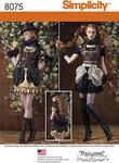 Steampunk kvinde kostume