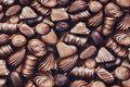 Bomuldsjersey med fyldte chokolader