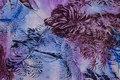 Bomulds-voile i lilla nuancer