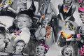 Bomuldsjersey med Marilyn Monroe motiver