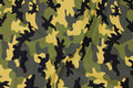 Camouflage bomuldsjersey i army farver