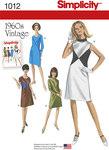 Retro 1960er stil kjoler