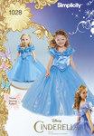 Disney Askepot kostume til pige og dukke