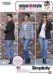 Mimi G street style jakke og bukser