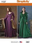 Middelalder kjoler kostumer
