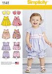 Kjoler til småbørn inkl. Bukser, top m.m.