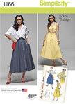 Nederdele med svaj 1950er stil