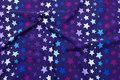 Lilla økotex bomulds-jersey med 2 cm stjerner