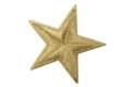 Sølvstjerne strygemærke ø 5 cm