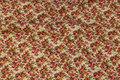 Miniroser i klar pink på hvid bund