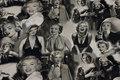 Marilyn Monroe jersey i grå nuancer