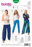 Bukser, elastiktalje, slå-om effekt
