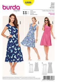 Burda mønster: Kjoler