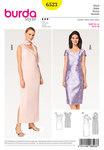 Kjole, asymmetrisk, et-skulder-kjole