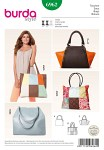 Takser, shoppingtasker, patchwork