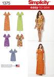 Pullover kjole i let design