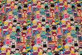 Bomuldsjersey med Alverdens Børn i multifarver