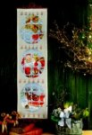 Pakkekalender - Julemanden og kanen