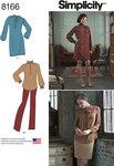 Kjole og tunika, nederdel og bukser