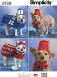 Hunde-udklædning i tre størrelser