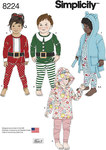 Hættetrøje, bukser og toppe til børn