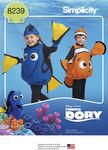 9 Disney Finding Dory kostumer til småbørn
