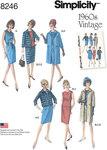 1960er frakker, kjoler og nederdel