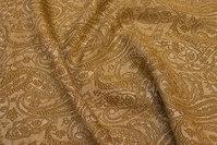 Gylden brocade i polyester