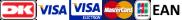 Dankort VisaDankort Visa VisaElectron Mastercard JCB