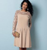 Butterick 6281. Petite kjole .