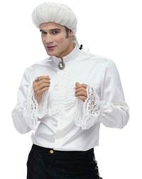 Mozart skjort med pynt. Burda 2433.