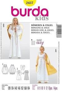 Romersk pige eller engel. Burda 2437.