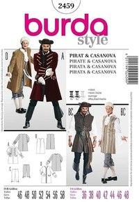Pirat og Casanova. Burda 2459.