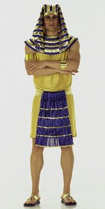 Sfinx og Farao. Burda 2468.