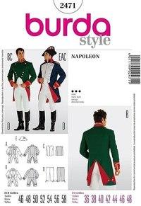Napoleon kostume. Burda 2471.